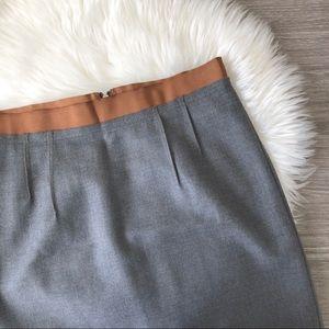 NWT Loft Petites Wool Blend Pencil Skirt Size 8P